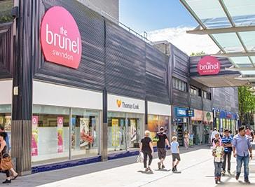 The Brunel Shopping Centre in Swindon