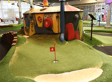 The Golfing Hole in Swindon
