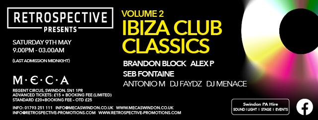 Retrospective Presents Vol.2 Ibiza Club Classics