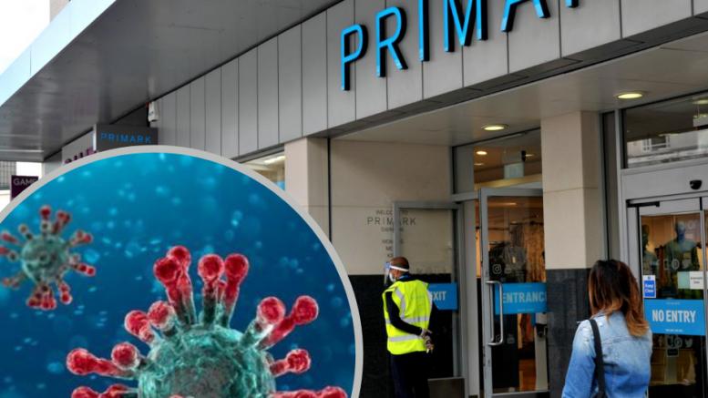 Swindon Primark employee tests positive for coronavirus