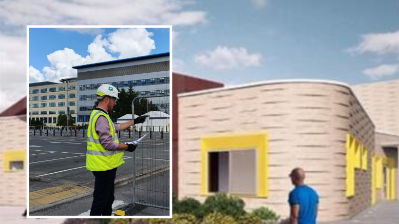 Work gets under way on new radiotherapy unit at Swindon hospital